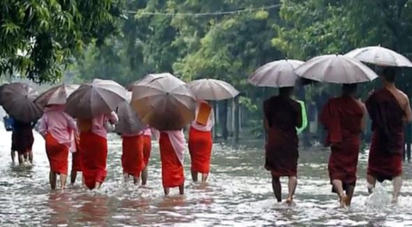 дожди бирма