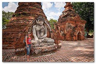 бывшая столица мьянмы ава