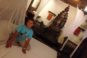 наш номер в отеле в Камбодже