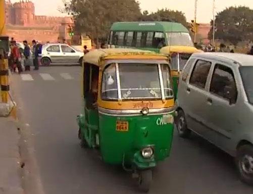 мото рикши в дели