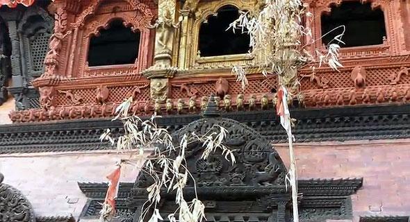 дворец богини кумари