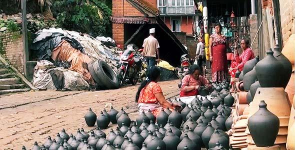 гончары бхактапура