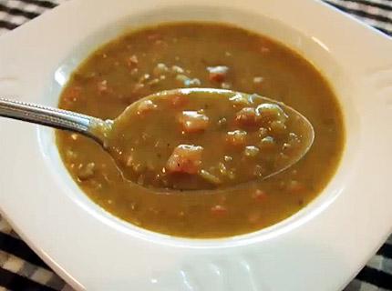 гороховый суп  в стокгольме