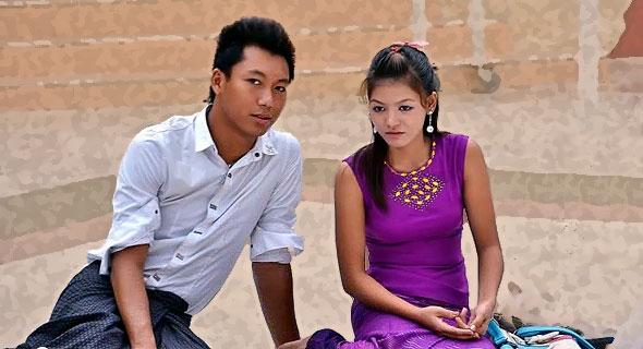 люди страны мьянма