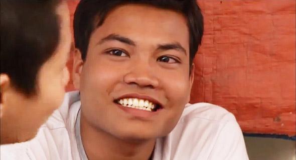 улыбки людей мьянма