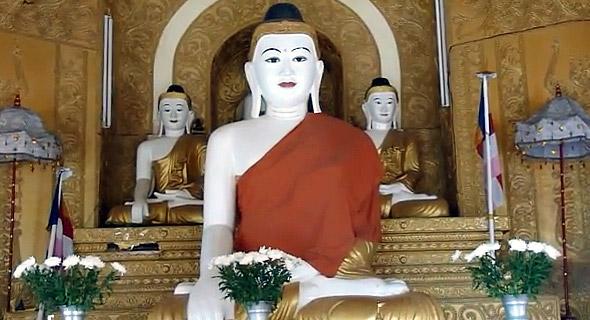 будда храм бирмы