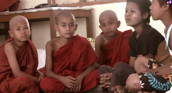 монахи бирмы