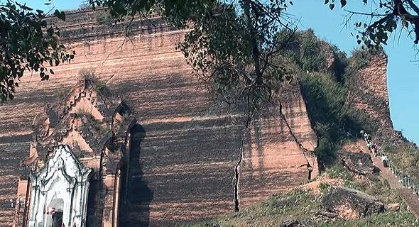 недостроенная пагода мингун патододжи
