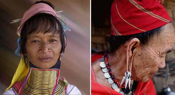 племя длинношеих женщин
