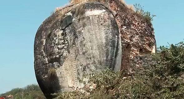 остатки львов мингун мьянма