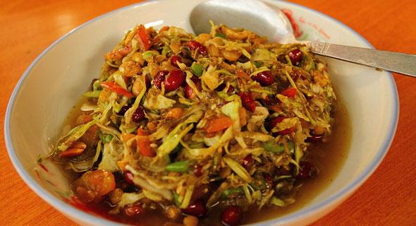 мьянма салат