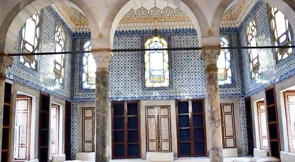 библиотека ахмета дворец топкапы