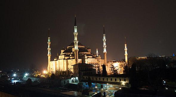 достопримечательности стамбула голубая мечеть