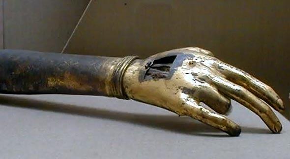 правая рука иоанна крестителя дворец топкапы