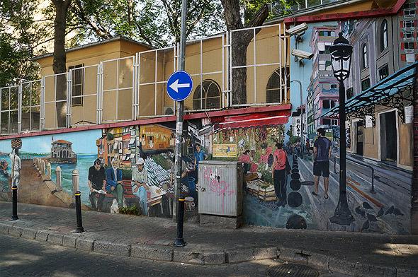 граффити на улицах кадыкей