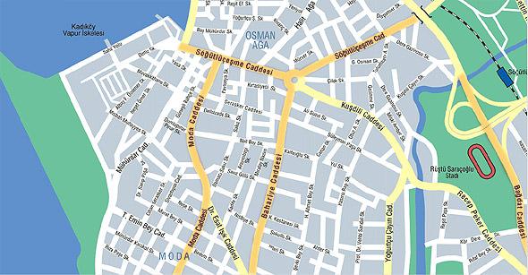 карта улиц кадыкей