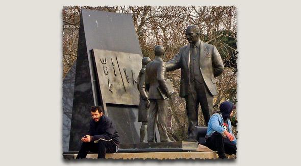 памятник ататюрку кадыкей