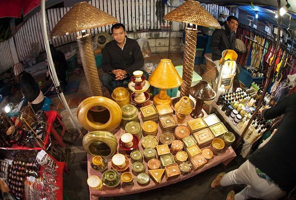 ночные рынки в тайланде