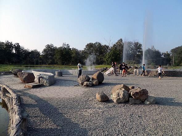горячая вода в сан кампхенг