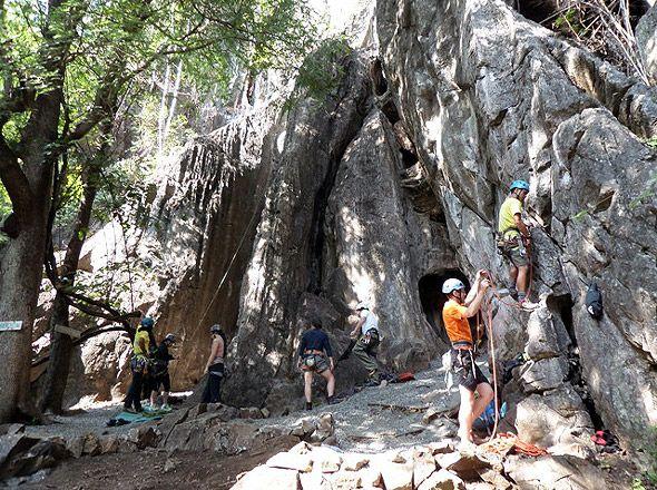 скалы в тайланде