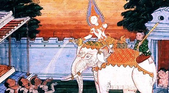 белый слон в тайланде