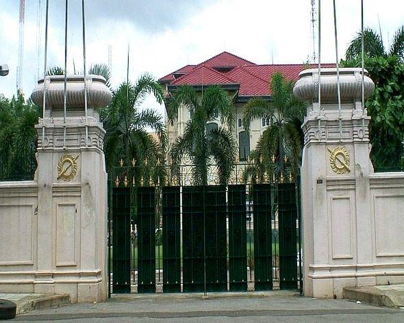 резиденция супругов дворец парускаван