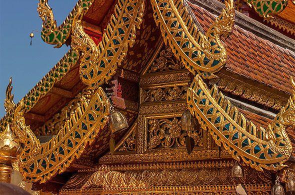 храмы тайланда ват пра тхат дой сутеп