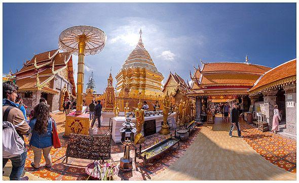 красота храма дой сутеп