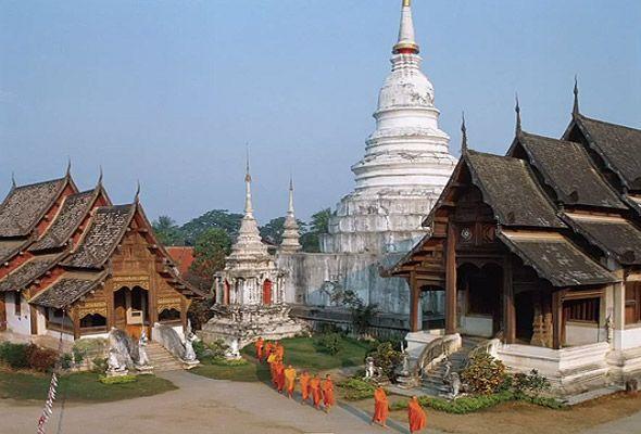 монастыри тайланда