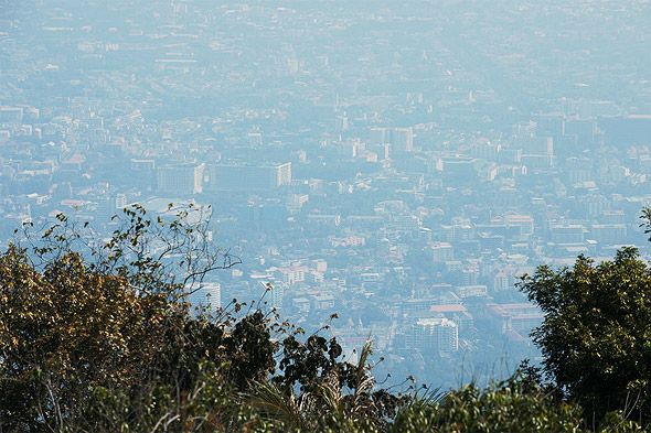 панорамный вид на чианг май