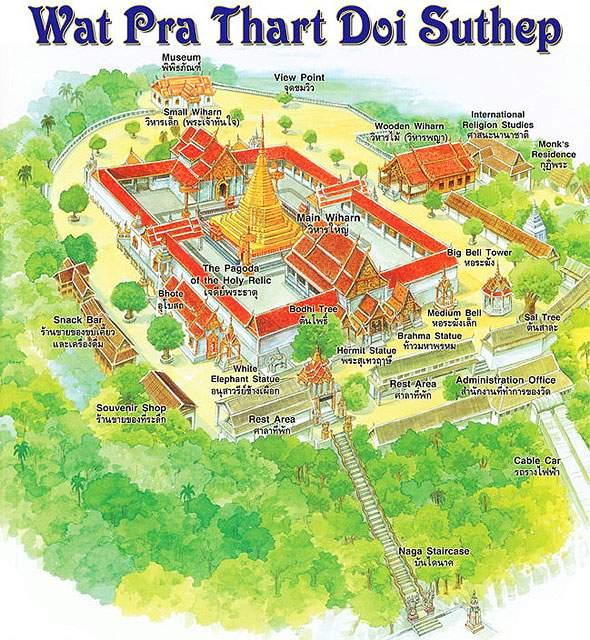 план храма дой сутеп