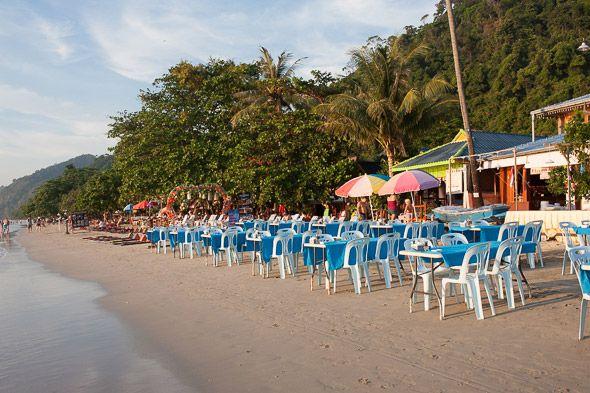 пляжи с песочком на ко чанг