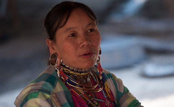 племена тайланда внешний облик