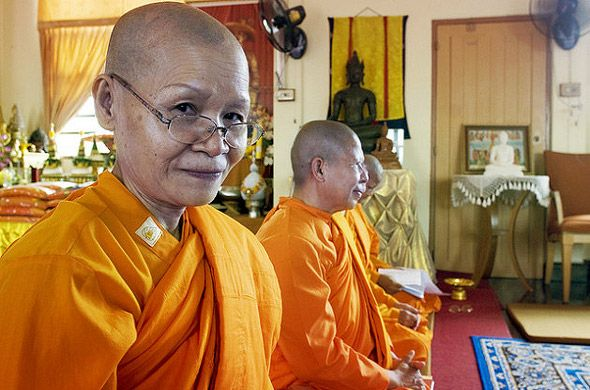 женщины монахи в тайланде