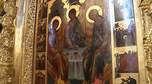троица андрея рублева иконы троицкого собора