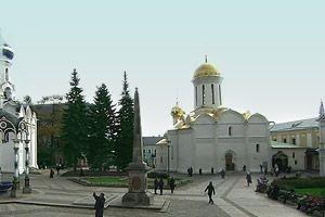 троицкий собор сергиевой лавры