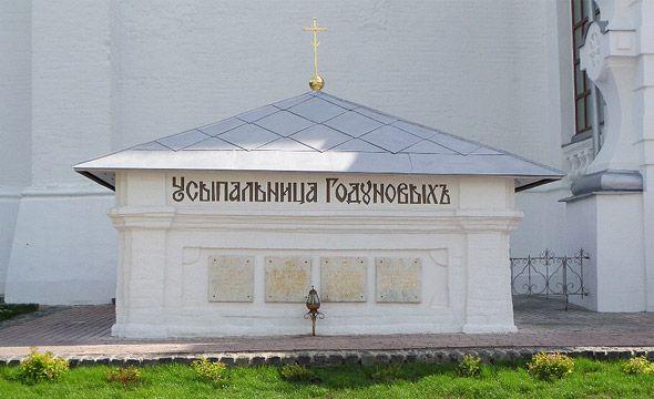 усыпальница бориса годунова успенский собор