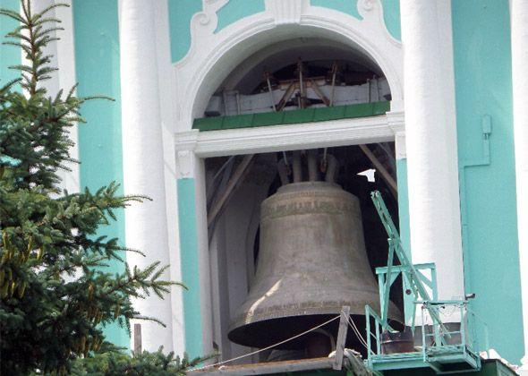 колокольня троице сергиевой лавры звоны