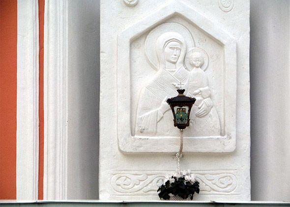 чудотворная икона в лавре одигитрия смоленская