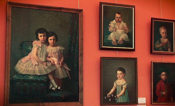 портретный зал музей игрушки сергиев посад