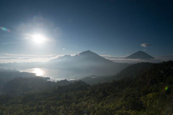 бали вид на кальдеру вулкана батур