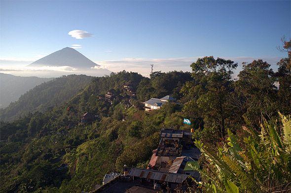 вулкан где живут боги бали