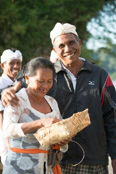 приветливые и доброжелательные балийцы