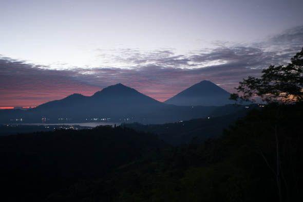 каскад вулканов батур абанг агунг