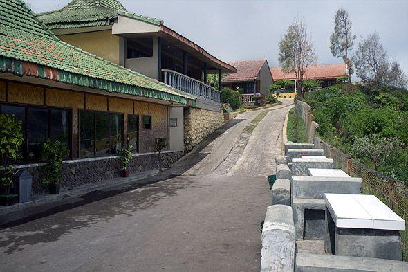 маленькие домики отеля
