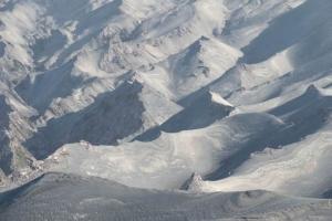 песочные холмы море песка