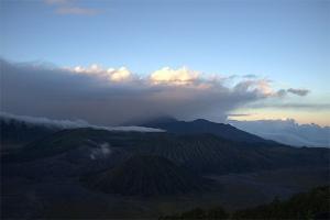 вулкан бромо рассвет