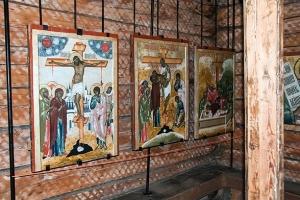 кижи церковь покрова богородицы внутри