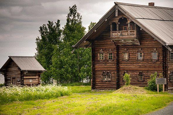 карелия кижи один из крестьянских домов