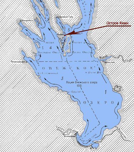 остров кижи на онежском озере